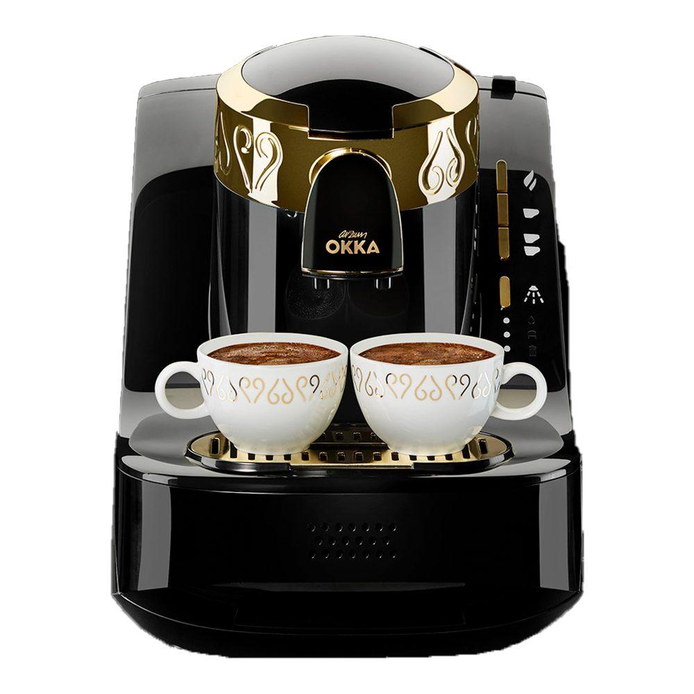 Arzum Okka Automatic Turkish Coffee Machine Black Gold Arzum Egypt